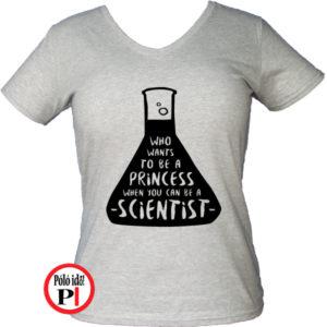 kémikus póló hercegnő szürke