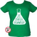 kémikus póló hercegnő zöld