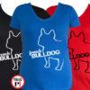 kutya póló french bulldog női