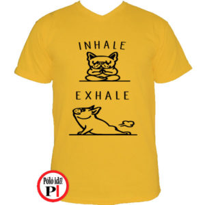 Inhale Exhale Póló