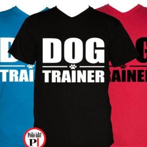 kutya póló,trainer