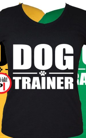 kutya póló trainer női