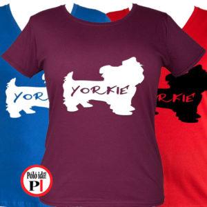 kutya póló yorkie női