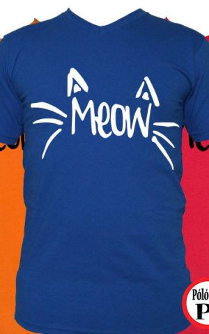 macska póló meow