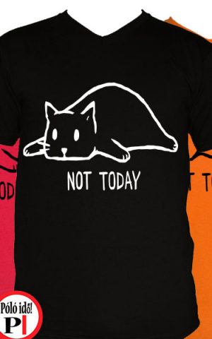 macska póló nem ma