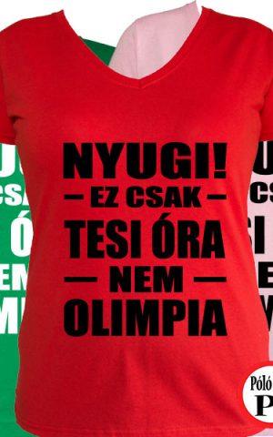 sport póló olimpia női