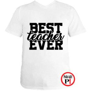 tanár póló best fehér