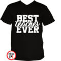 tanár póló best fekete