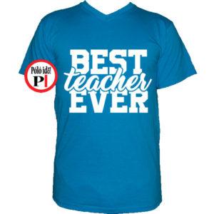 tanár póló best vkék