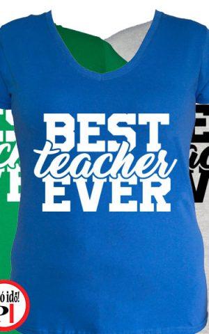 tanár póló best női