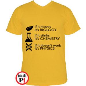 tanár póló if it citrom