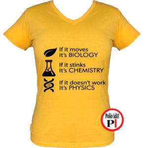 tanár póló if it női citrom