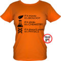 tanár póló if it női narancs