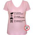 tanár póló if it női pink