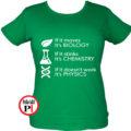 tanár póló if it női zöld