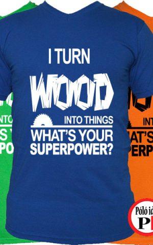 asztalos póló superpower