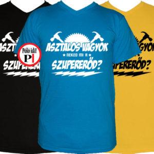 asztalos póló szupererő 9afb5d50bf