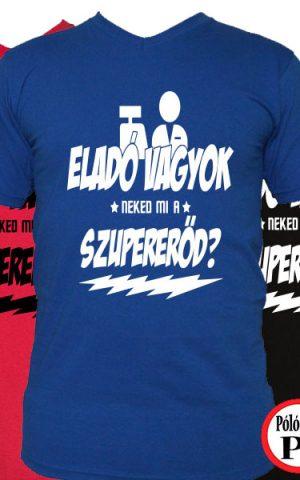 eladó póló szupererő