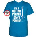 gitáros póló vkék