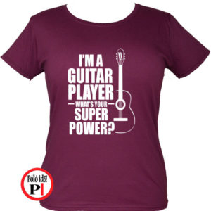 Női Super Gitáros póló