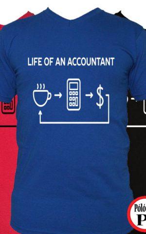 könyvelő póló life