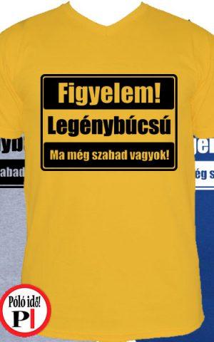 legénybúcsú póló szabad