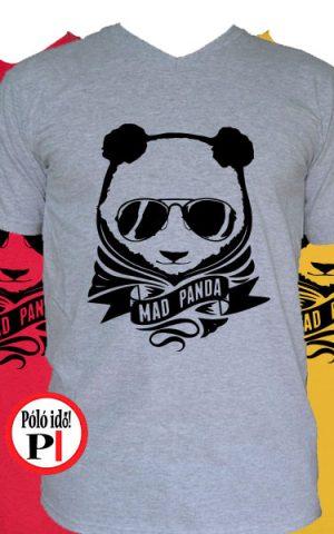 panda póló mad panda
