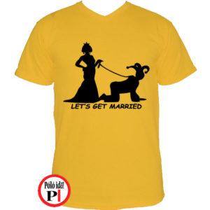 Lets Get Married Póló