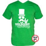 vőlegény póló kölönítmény zöld