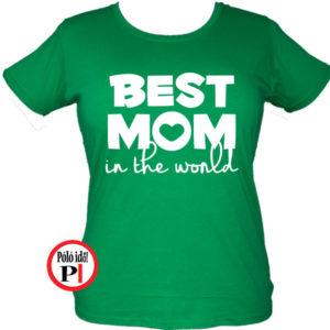 Best Mom World Póló