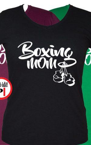 anya póló boxing mom