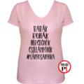anya póló lányos anya pink