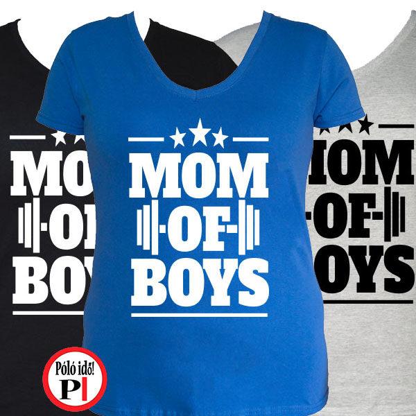 anya póló mom of boys