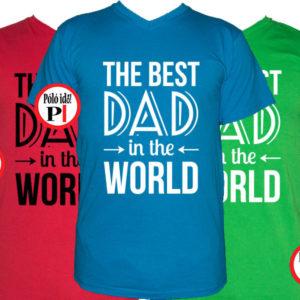 apa póló best dad world