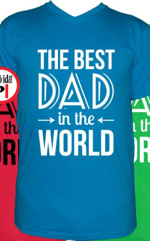 apa póló best dad world