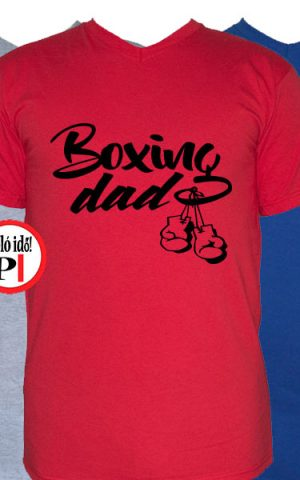apa póló boxing dad