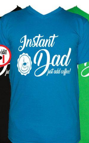 apa póló instant dad