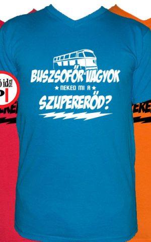 busz póló szupererő