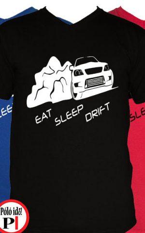 drift póló eat sleep