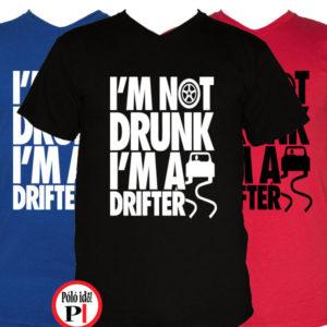 drift póló not drunk