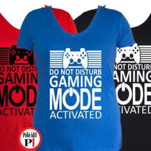 gamer póló game mode női