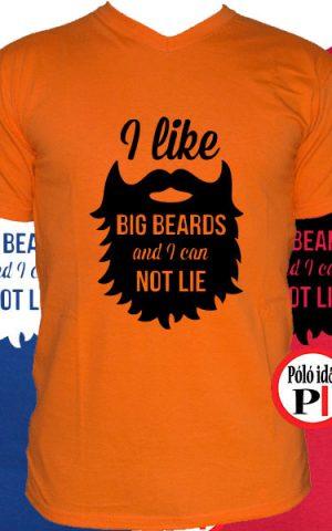 szakáll póló big beard