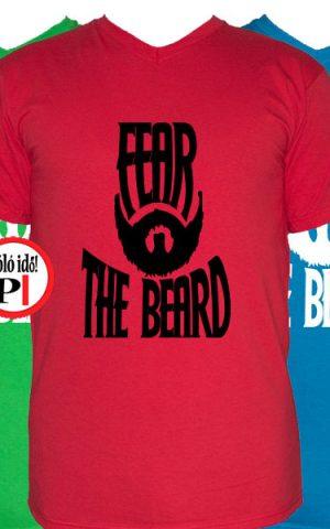szakáll póló fear the beard