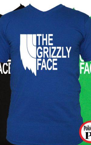 szakáll póló grizly face