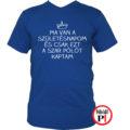 szülinap póló szar kék