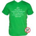 szülinap póló szar zöld