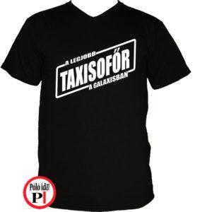 taxi póló legjobb a galaxisban fekete