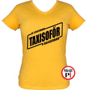taxi póló legjobb a galaxisban női citrom