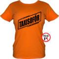 taxi póló legjobb a galaxisban női narancs