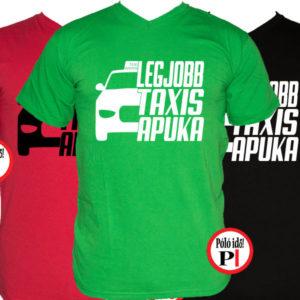 taxi póló legjobb taxis apuka